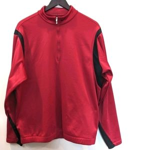 Nike Golf Therma-Fit Large Maroon Pullover